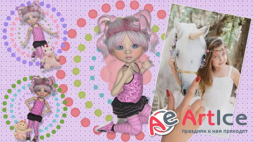 Проект ProShow Producer - All My Dolls