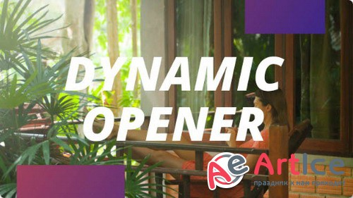 Fast Dynamic Opener - After Effects Template