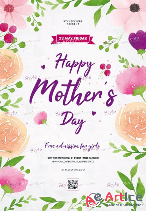 Mothers Day V7 PSD Flyer Template