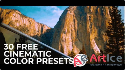 30 Cinematic Color Presets for Premiere Pro