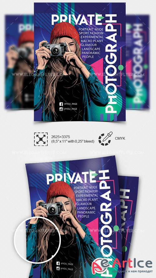 Private Photograph V5 2019 Flyer PSD Template