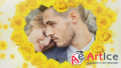 Проект ProShow Producer - Wedding Rose - Yellow