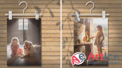 Проект ProShow Producer - Rustic Wall Art