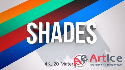 """Shades of Netflix"" - After Effects Cinema 4D Template"