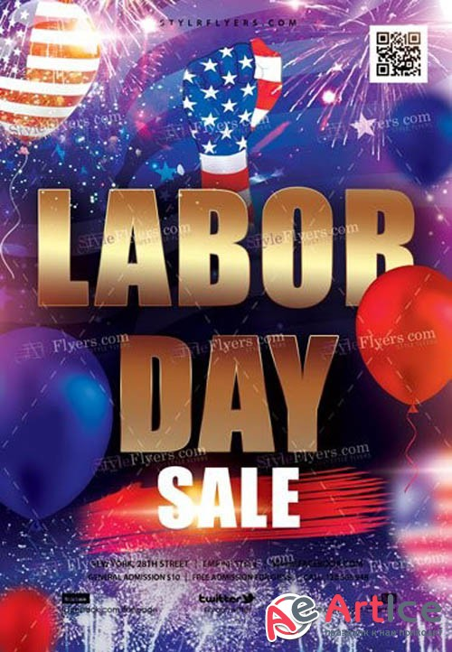 Labor Day V0108 2019 Sale Flyer