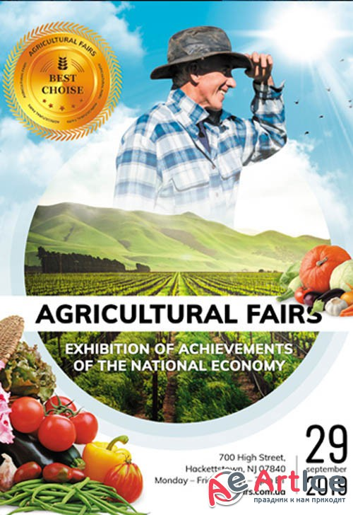Agricultural Fairs V0210 2019 Premium PSD Flyer Template