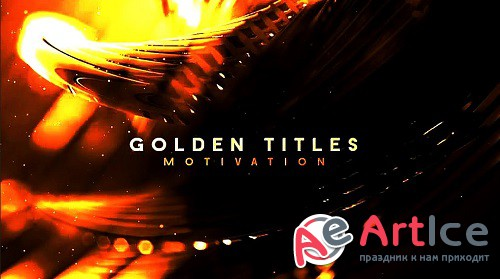 Golden Titles Motivation 302384 - After Effects Templates