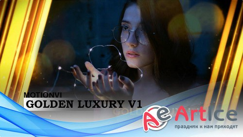 Проект ProShow Producer - Golden Luxury V1