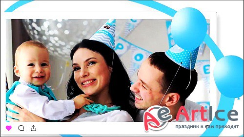 Happy Birthday Opener 303219 - After Effects Templates