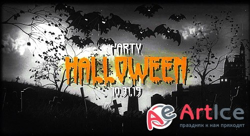 Halloween Logos 303539 - After Effects Templates