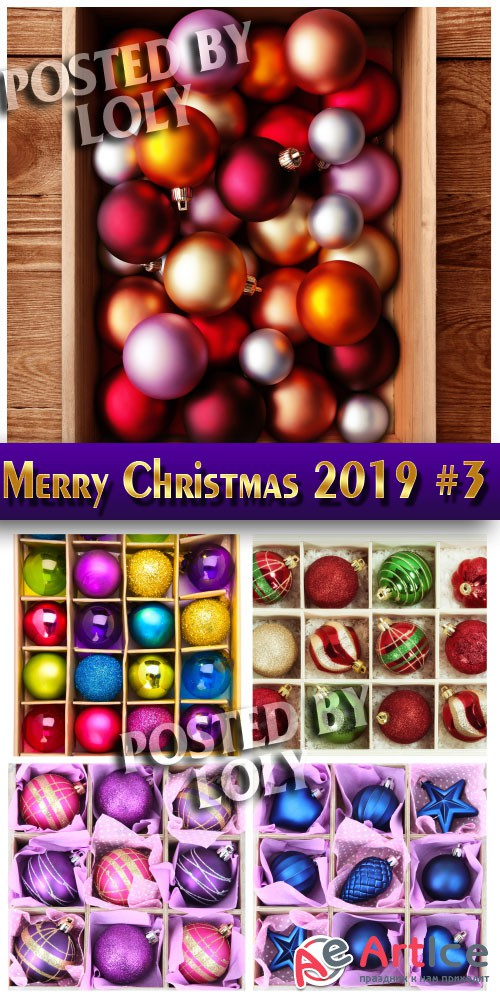Merry Christmas 2019 #3 - Stock Photo