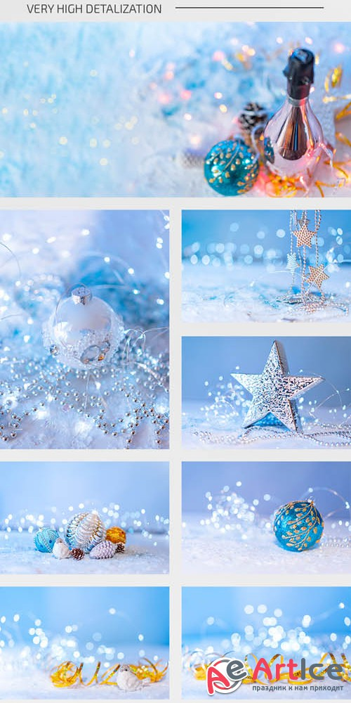 Christmas and New Year V2811 2219 14 Premium Stock Photos Bundle