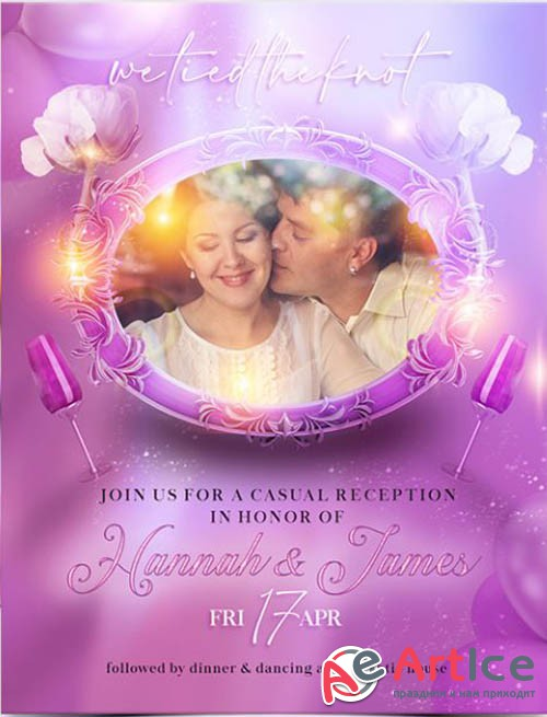 Wedding Day V1201 2020 Premium PSD Flyer Template