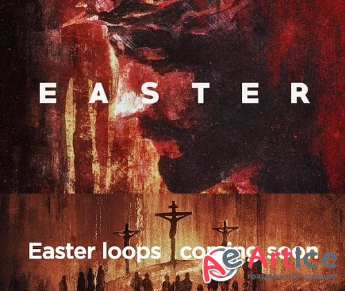 Videohive - Easter Visuals - 23428782 - Project for After Effects