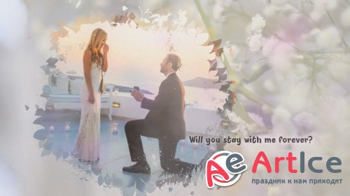 Проект ProShow Producer - Wedding Proposing