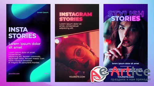 Instagram Stories Pack 49 - Project for After Effects