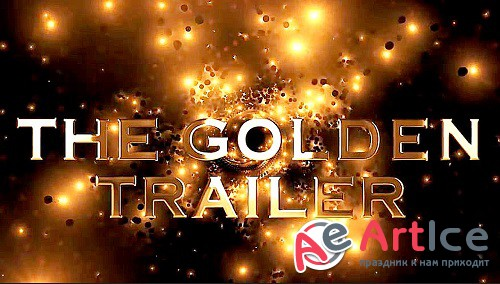 The Golden Trailer 4 - Project for After Effects