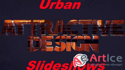 Urban Slideshows 0212 - Project for After Effects