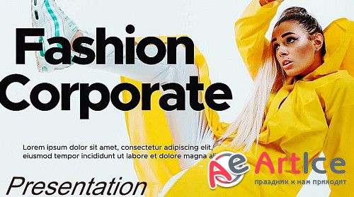 Fashion Corporate Presentation 996 - Project for After Effects