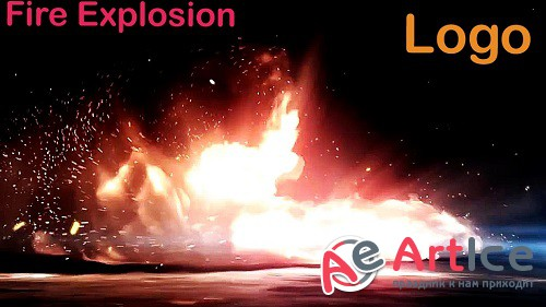 Fire Explosion Logo V3 830472 - Project for After Effects