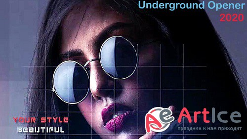 Underground Opener 828694 - Project for After Effects