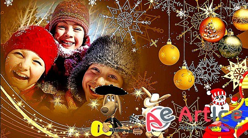 Children's New Year - Проект ProShow Producer