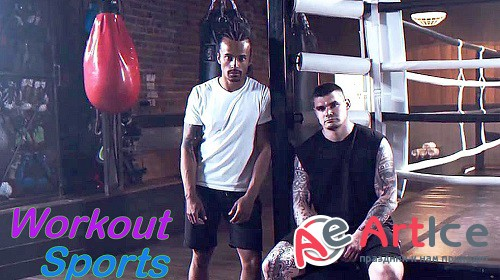 Workout Sports Opener 870956 - Project for After Effects