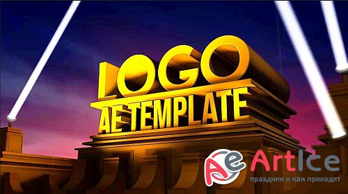 3D Logo Movie Premiere With Searchlights 892773 - Project for After Effects