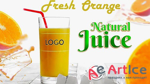 Fresh Orange Juice 885680 - Project for After Effects