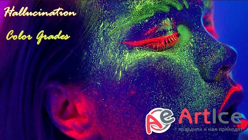 Hallucination Color Grades 886036 - After Effects Presets